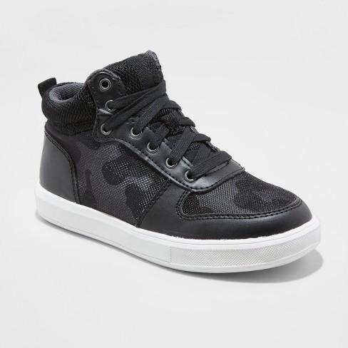 9c2b07ce2754 Boys  Harber Camo High Top Sneakers - art class™ Black 13   Target