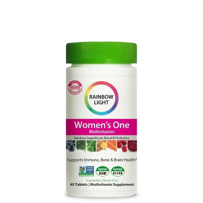 Rainbow Light Women's One Multivitamin Tablets - 45ct