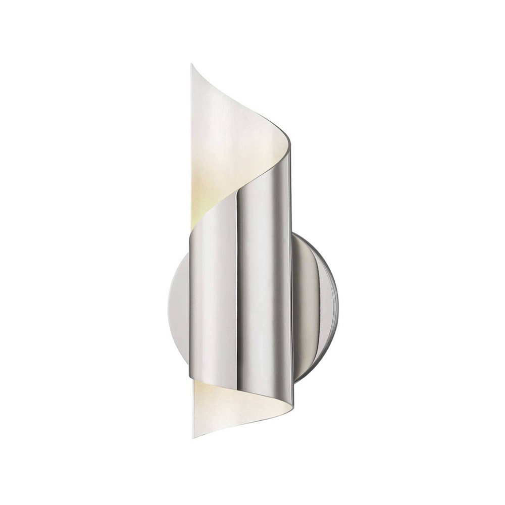 Evie LED Wall Sconce Brushed Nickel - Mitzi by Hudson Valley Cheap