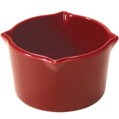 Chantal Talavera Red Stoneware 8 Ounce Ramekin