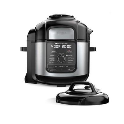 Ninja Foodi 8-qt. 12-in-1 Deluxe XL Pressure Cooker & Air Fryer - Stainless Steel - FD401
