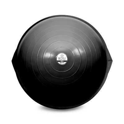 BOSU 26 Inch Pro Balance Trainer Ball Exercise Fitness Gym Equipment for Yoga, Sports, Personal Trainer, Rehabilitation, and Physical Therapy, Black