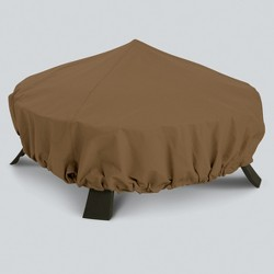 Round Fire Pit Cover - Tan - Threshold™