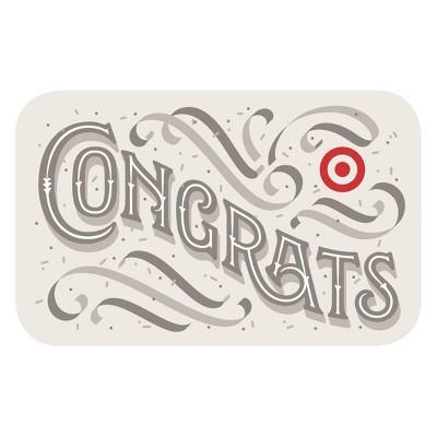 Fancy Congrats Target Giftcard