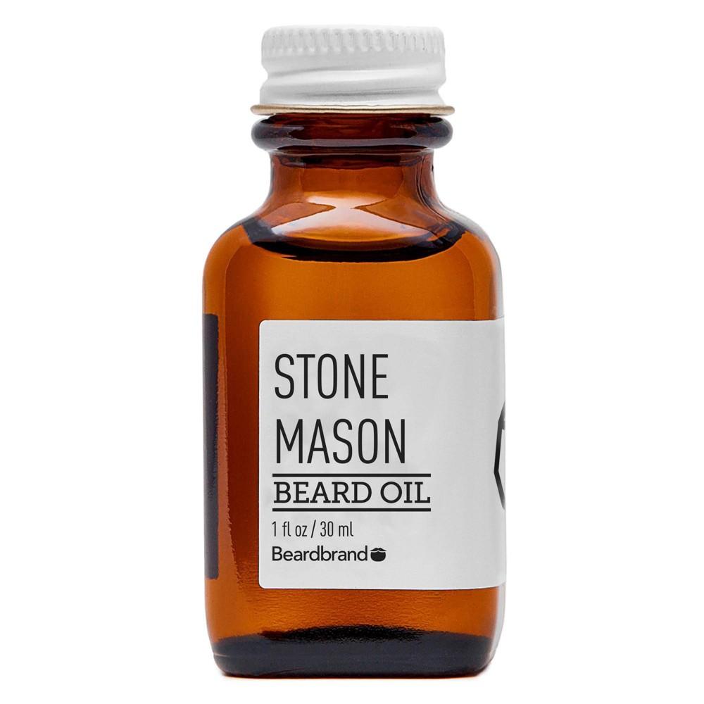 Image of Beardbrand Stone Mason Beard Oil - 1 fl oz