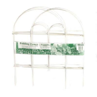 "18"" x 7.5'  Steel Folding Wire Border Fence - Glamos"