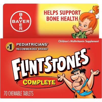 Flintstones Children's Complete Multivitamin Chewable Tablets - Mixed Fruit