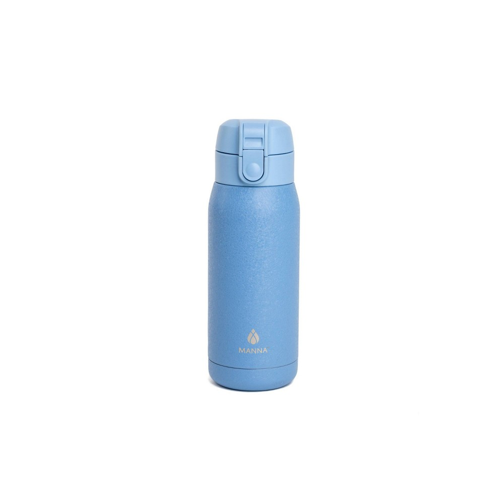 Image of Manna 10oz Stainless Steel Travel Mug Blue