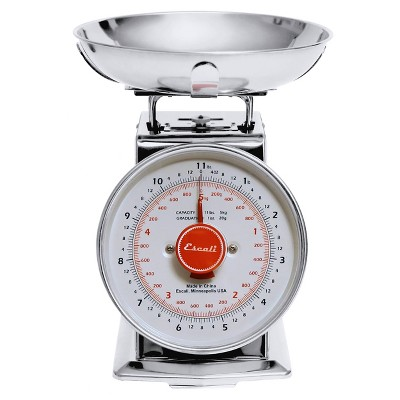 Escali Mercado Dial Scale with Bowl
