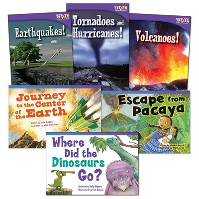 Shell Education Natural Disasters Book Set - Set of 6 Paperback Books