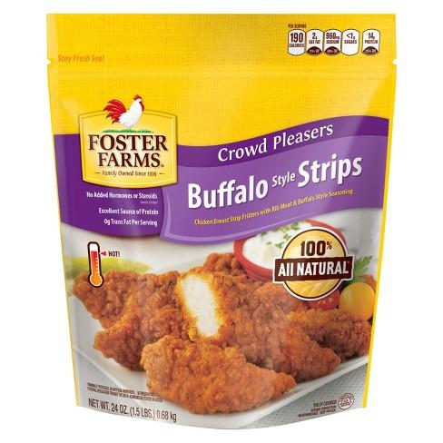 Foster Farms Frozen Buffalo Strips - 24oz - image 1 of 1