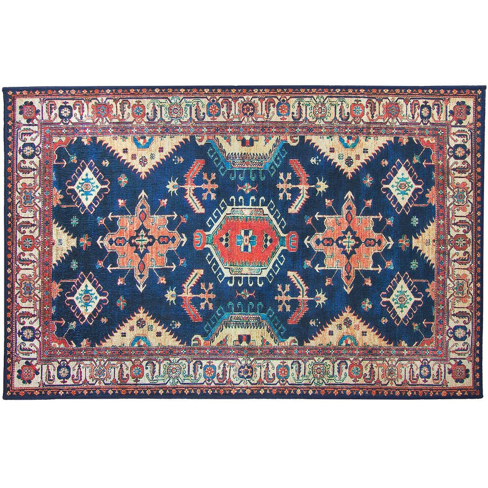 Image of 3'x5' Noor Rug Sapphire - Ruggable, Size: 3'x5', Blue