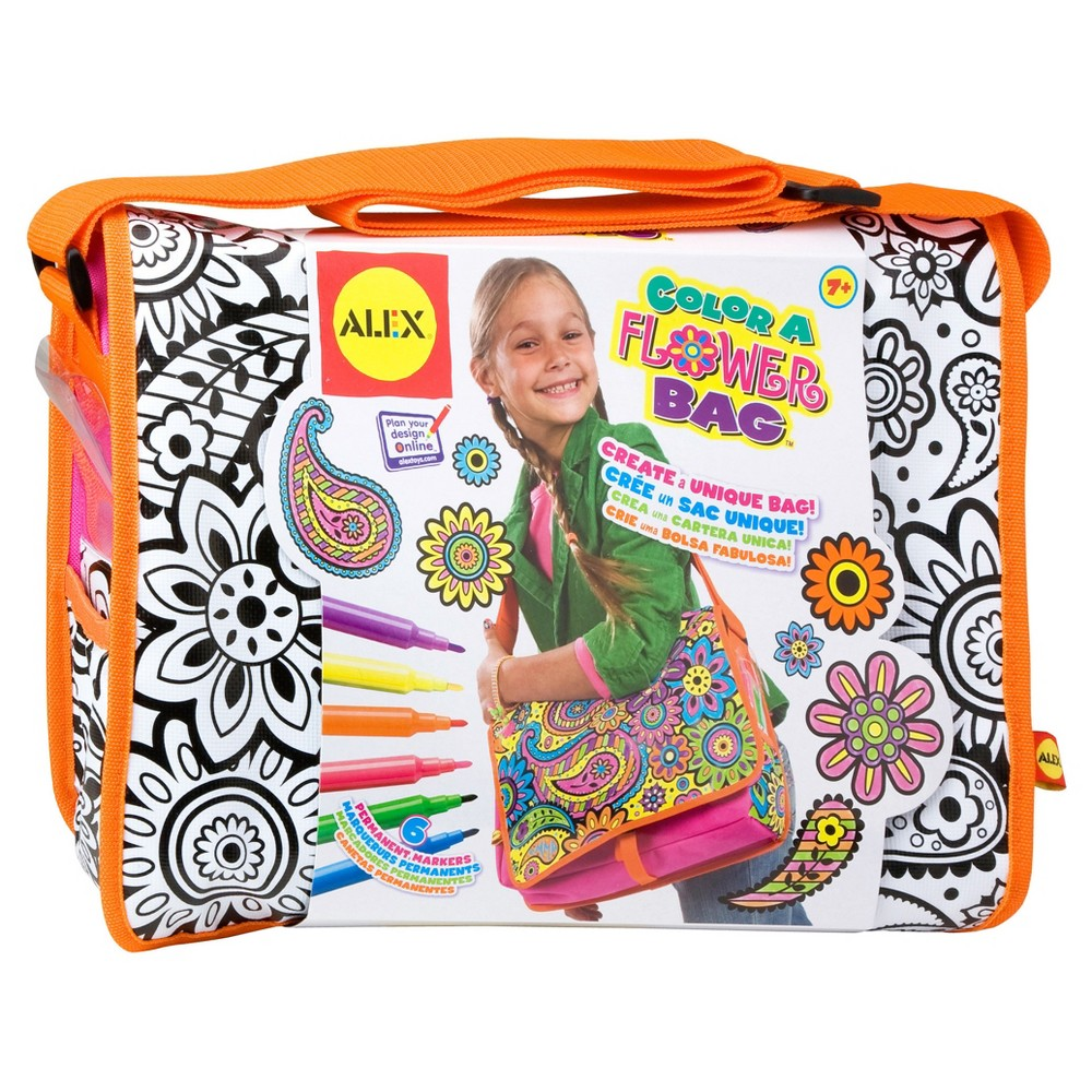Image of ALEX Toys Craft Color A Flower Bag