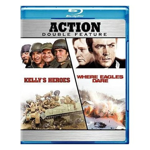 Kelly's Heroes / Where Eagles Dare (Blu-ray) - image 1 of 1