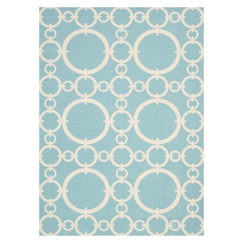 Rings Indoor/Outdoor Rug - Waverly - image 1 of 4