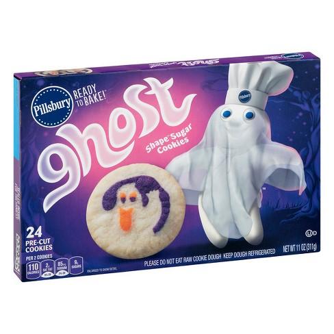 Pillsbury Ready To Bake Ghost Sugar Cookies 11oz Target
