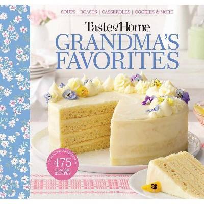 Taste of Home Grandma's Favorites - (Spiral_bound) (Spiral Bound)