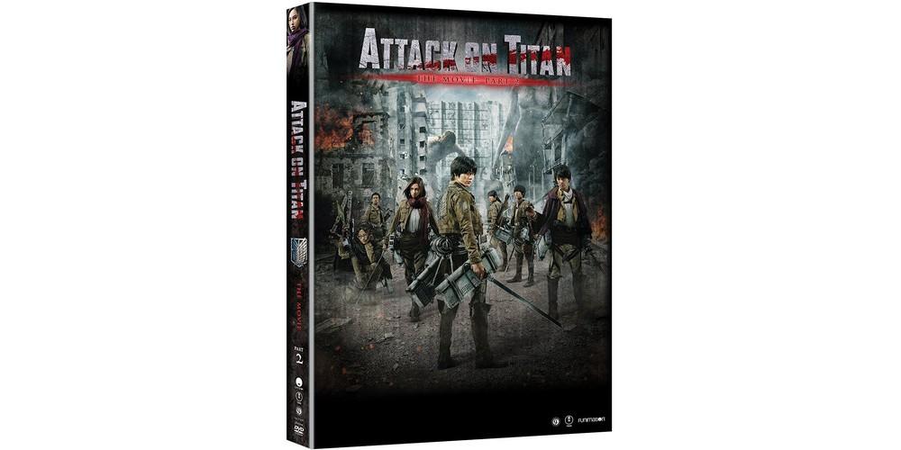 Attack On Titan The Movie:Part 2 (Dvd)