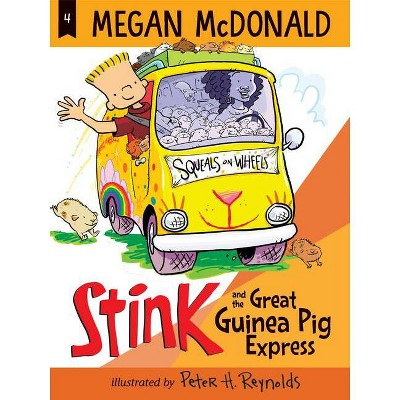 Stink and the Great Guinea Pig Express - by  Megan McDonald (Paperback)