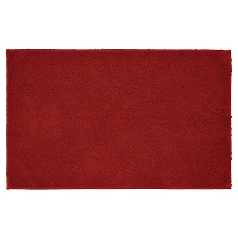 "Garland Queen Cotton Washable Bath Rug - Chili Pepper Red (24""x40"") - image 1 of 1"