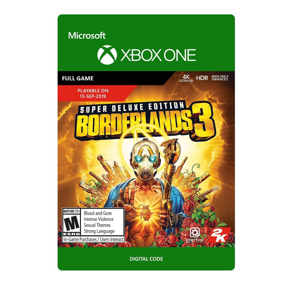 Borderlands 3: Super Deluxe Edition - Xbox One (Digital)