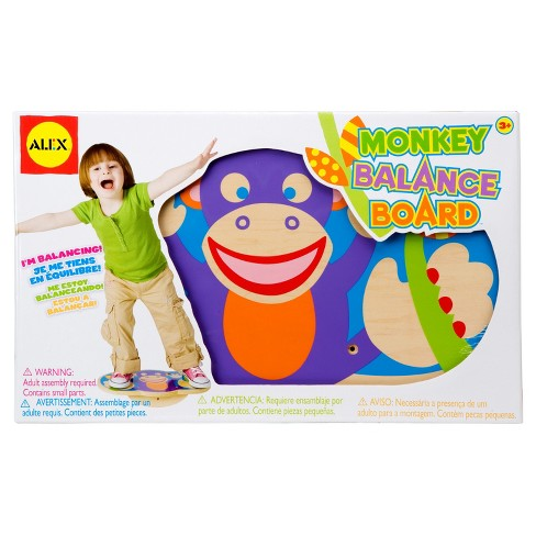 ALEX Toys Active Play Monkey Balance Board - image 1 of 3