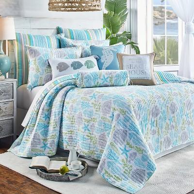 Deva Beach Quilt and Pillow Sham Set - Levtex Home