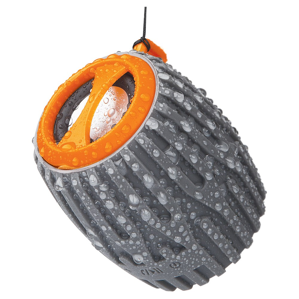 Merkury Boom Rugged Bluetooth Speaker - Orange/Gray (UB-SPB5M-800)