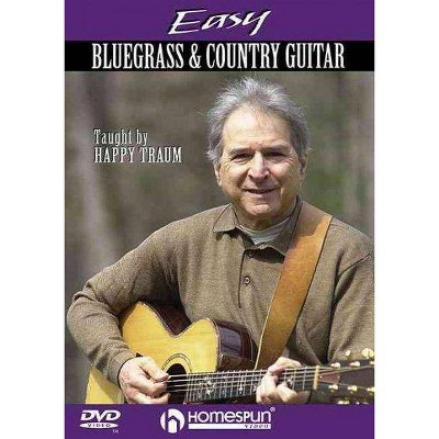 EASY BLUEGRASS AND COUNTRY GUITAR (DVD)(2005)