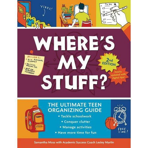 Where's My Stuff? 2nd Edition - by  Samantha Moss & Lesley Martin (Paperback) - image 1 of 1