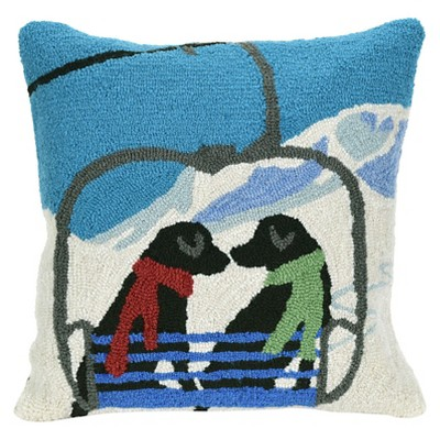 New Snow Throw Pillow - Liora Manne
