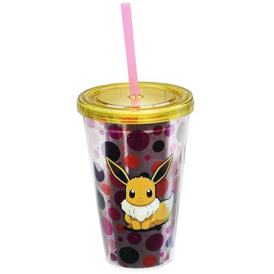 Just Funky Pokemon Eevee Art 16oz Carnival Cup