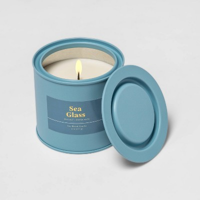 6oz Tin Jar Seaglass Candle - Threshold™