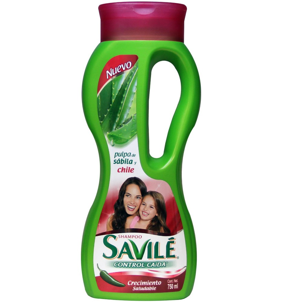 Savile Control Caida Crecimiento Chile Shampoo - 750ml