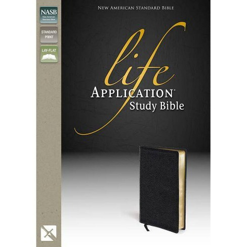 Life Application Study Bible Nasb By Zondervan Leather Bound Target