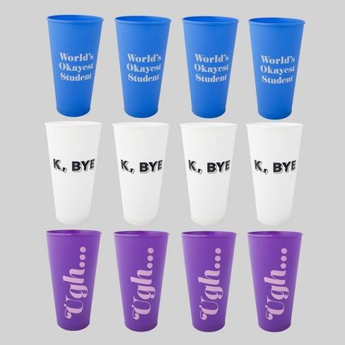 12pc Plastic Reusable Cups - Bullseye's Playground™ - image 1 of 1