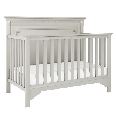 Baby Relax Edgemont 5-in-1 Convertible Crib - Soft Gray