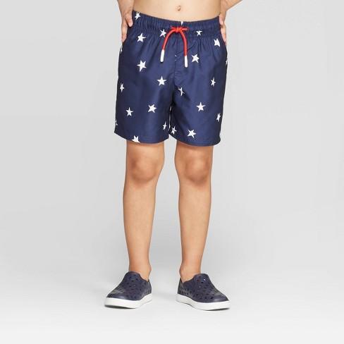 f74198481a Toddler Boys' Stars Swim Trunks - Cat & Jack™ Navy 2T : Target