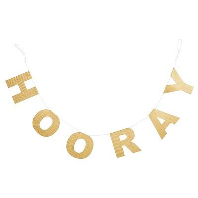Hooray Gold Banner - Spritz™
