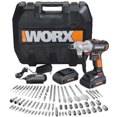 Worx WX176L.1 Switchdriver w/ 67pc Accessory Kit