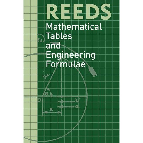 Reeds Mathematical Tables and Eng - (Reeds Professional) by  David Reid (Paperback) - image 1 of 1