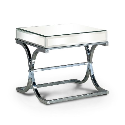 Lila End Table Chrome - HOMES: Inside + Out