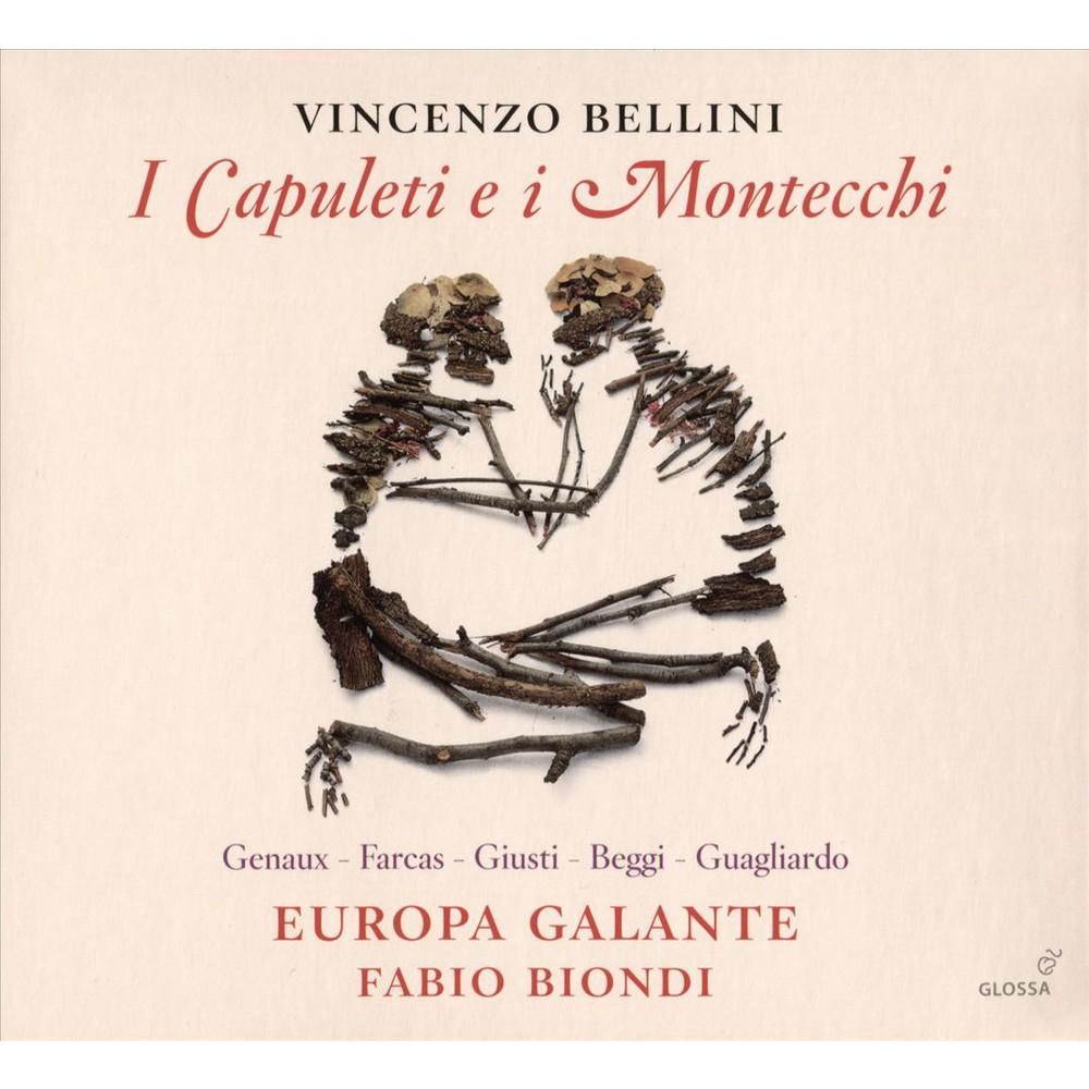 Europa Galante - Bellini:I Capuleti E I Montecchi (CD)
