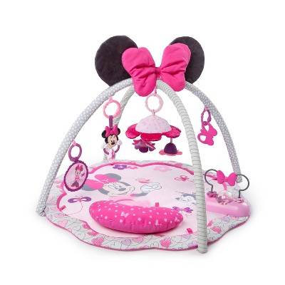 Bright Starts Minnie Mouse Garden Fin Activity Gym
