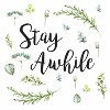 Stay Awhile Quote Peel and Stick Wall Decal - RoomMates - image 4 of 4