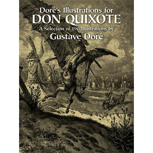 Dor�'s Illustrations for Don Quixote - (Dover Fine Art, History of Art) by  Gustave Dore (Paperback) - image 1 of 1