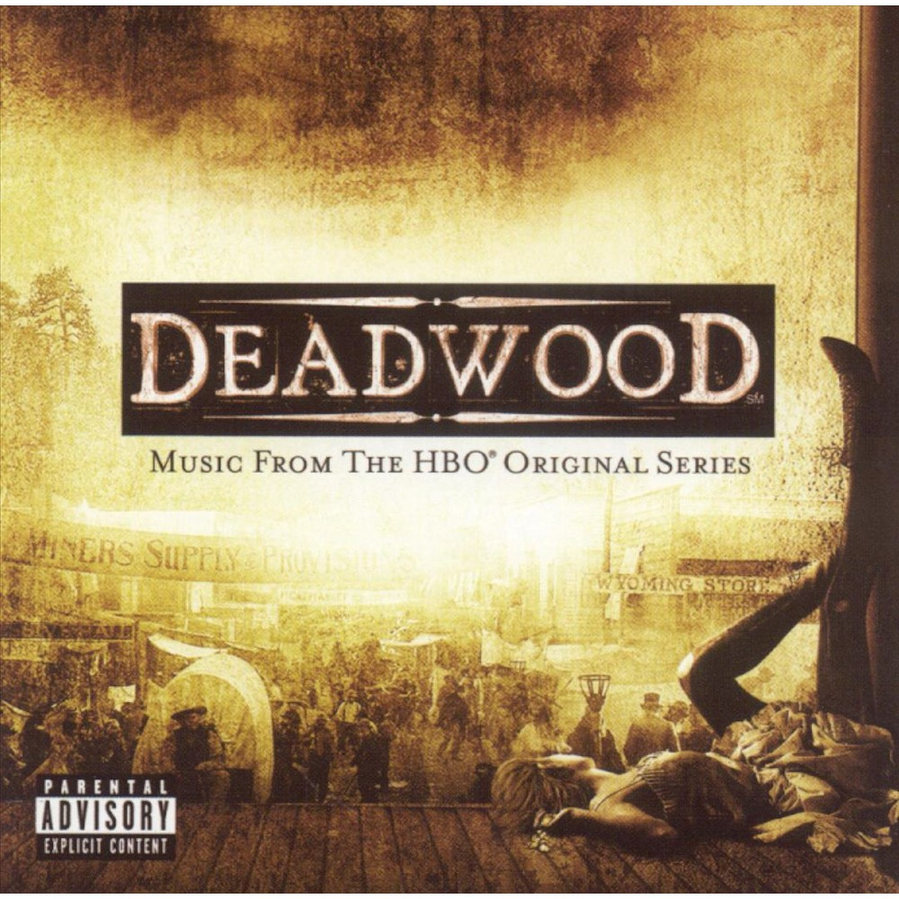Soundtrack Deadwood Music From The Hbo Series Explicit Lyrics Cd