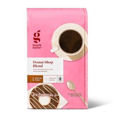 Donut Shop Blend Medium Roast Ground Coffee - 20oz - Good & Gather™