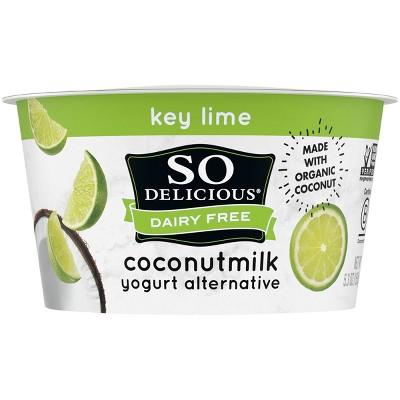 So Delicious Dairy-Free Key Lime CoconutMilk Yogurt Alternative- 5.3oz