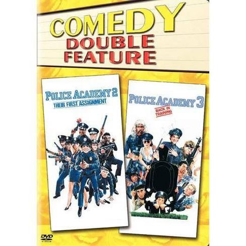Police Academy 2 / Police Academy 3 (DVD) - image 1 of 1